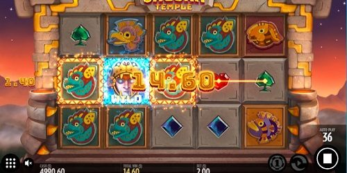 Jaguar Temple slot game review HappyLuke casino online